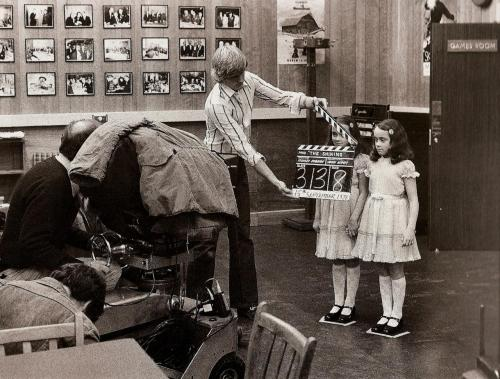 gabrielgovela:  Ole. fer1972:  Filming The Shining