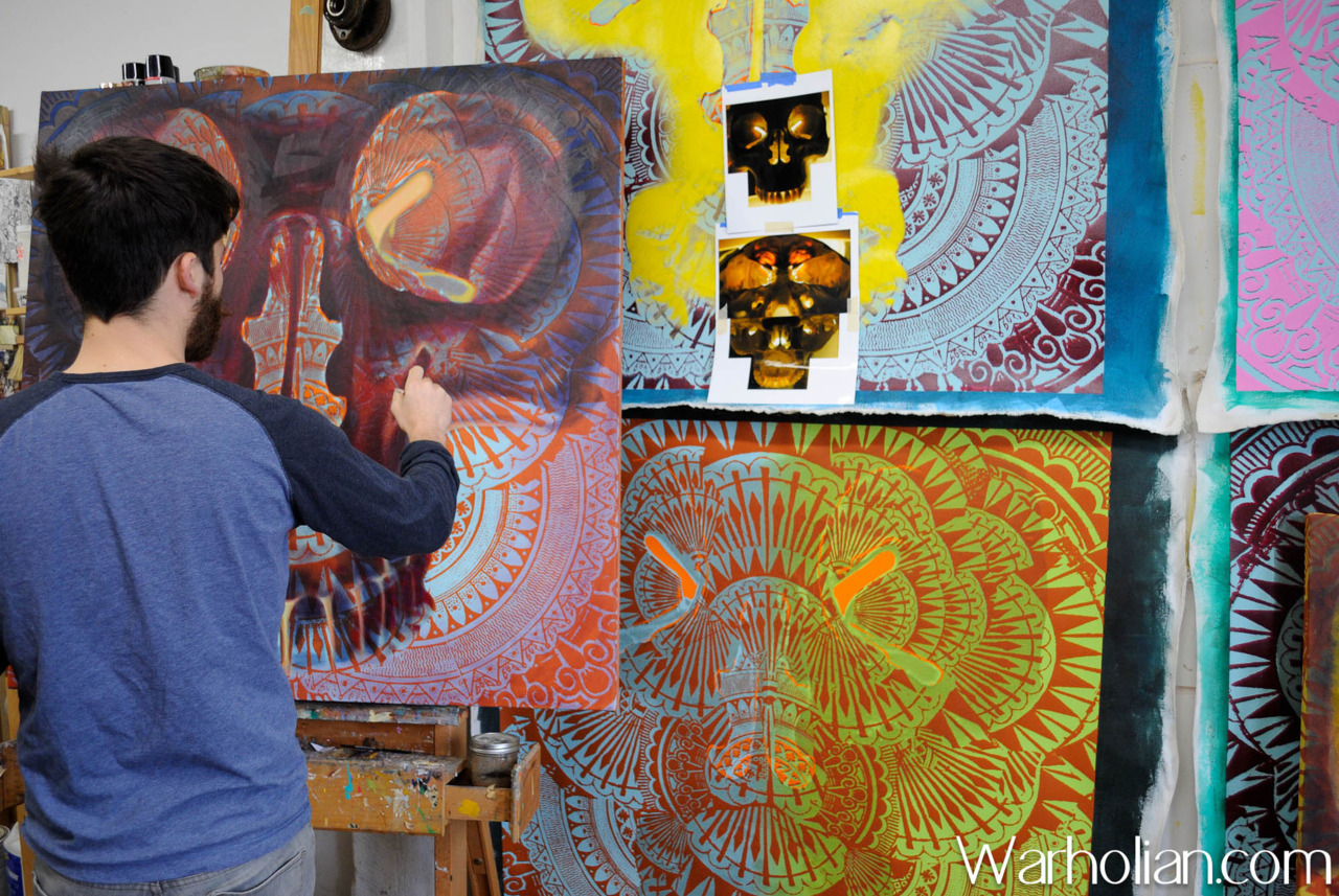 Check out our studio visit and interview with artist Beau Stanton about his latest body of work Archaic Ornaments at BOLD HYPE gallery in Chelsea!  Interview and photos by Molly Cotter for Warholian. http://warholian.com/2012/04/16/beau-stanton-2/