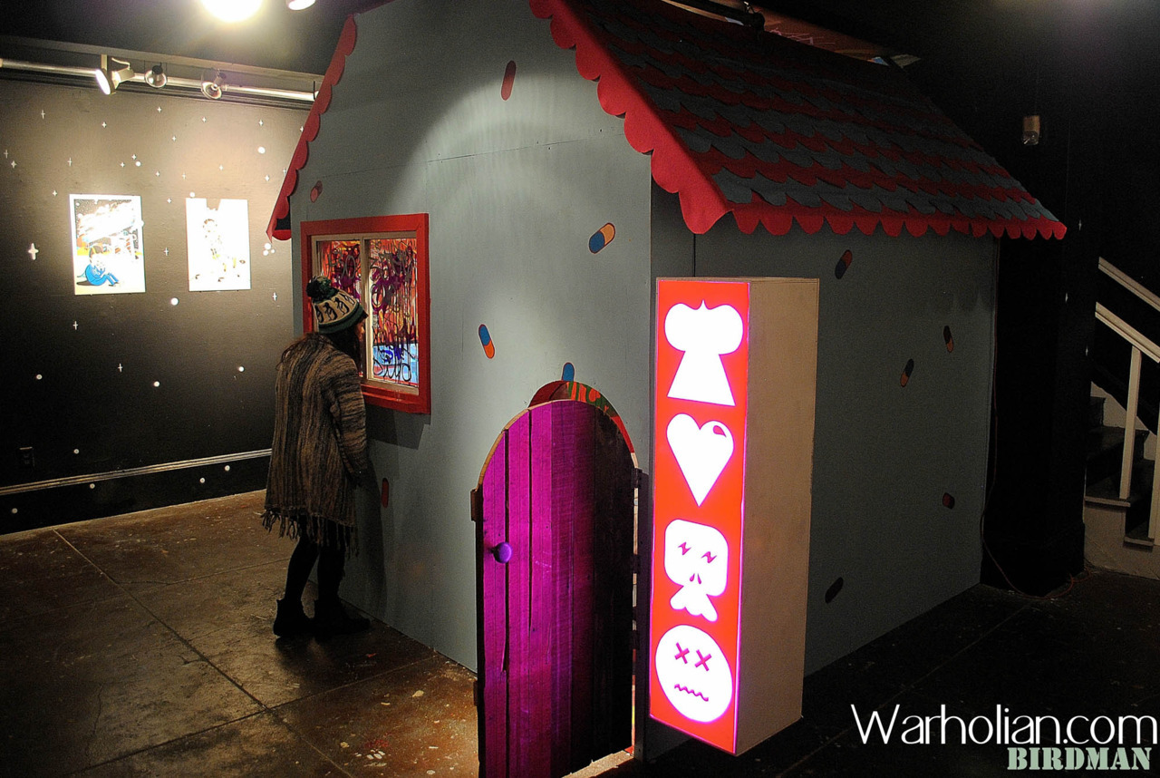 UK street artist Sickboy recently opened Wonder Club at White Walls gallery, be sure to check out these exclusive photos from the show by Warholian's own Birdman! http://warholian.com/2012/04/16/sickboy/