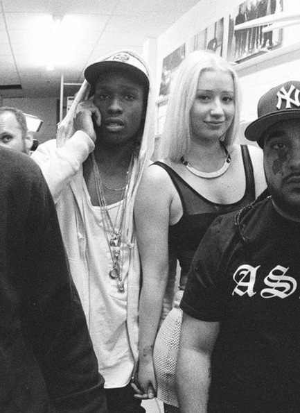 diamond-fresh:  A$AP x IGGY