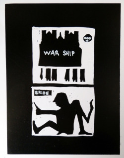 WAR SHIP, 2012 Ink on Paper