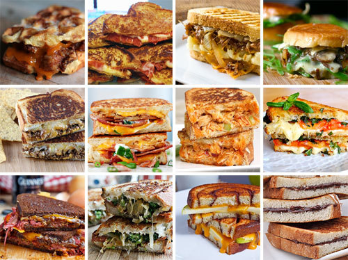 brit:  12 Ways to Grill Your Cheese. More grilled cheese? Yes please. All month long! :)