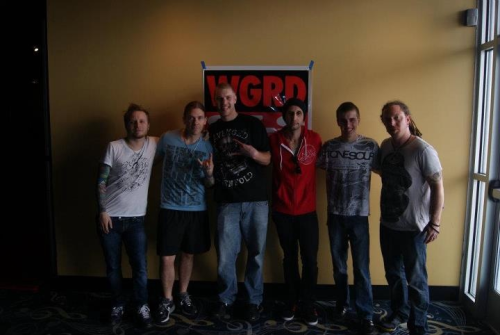 So yeah, I met a band called Shinedown on Saturday. They were some of the most down to Earth people I've ever met.