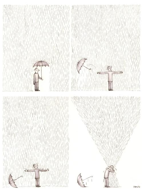fer1972:  Hug to the Rain by Troche