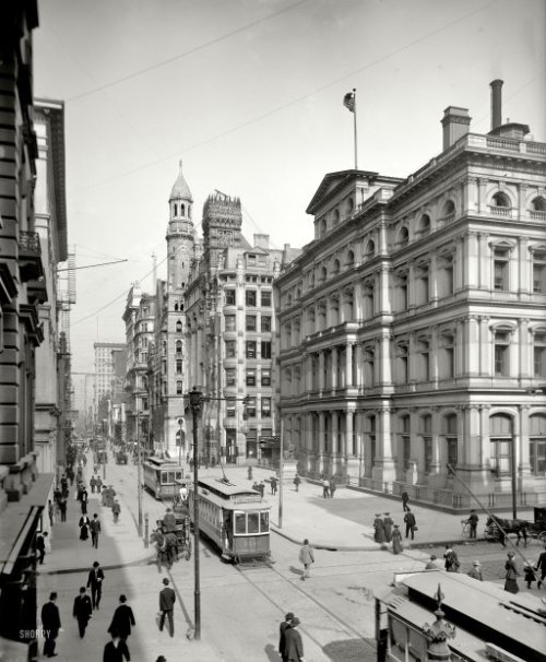 lostsplendor:  Philadelphia, 1906 (via Shorpy Historical Photo Archive)