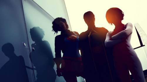 glasmond:  Superawesome Young Justice Cosplayers TrailerpictureImpulse: GoddamngeckogirlRobin: NarakuKon-Elle: Schpog Expect more pictures for the next days!  Adfjkldjsloa, that's a incredible awesome pic, woa.