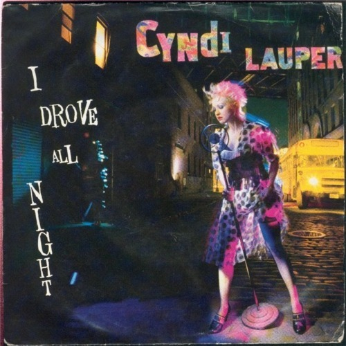 Cyndi Lauper - Day#211 I Drove All Night