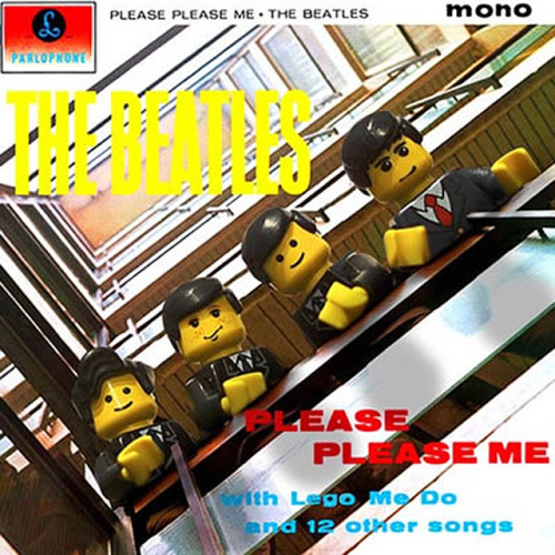 legoword:  The Beatles - Please Please me