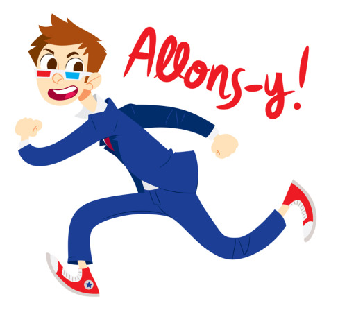 nowaitwhat:  Allons-y Alonso!  (Available on t-shirts and other stuff through my redbubble)