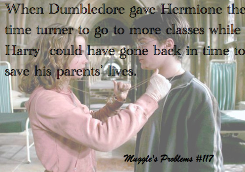 Then there wouldnt be Harry Potter , and Didnt you litsen to him ? you cant change Past that much