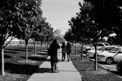 PIC #22 Taken: October 1st, 2011 Subject: My family walking towards the Como Zoo Conservatory in Saint Paul, Minnesota.