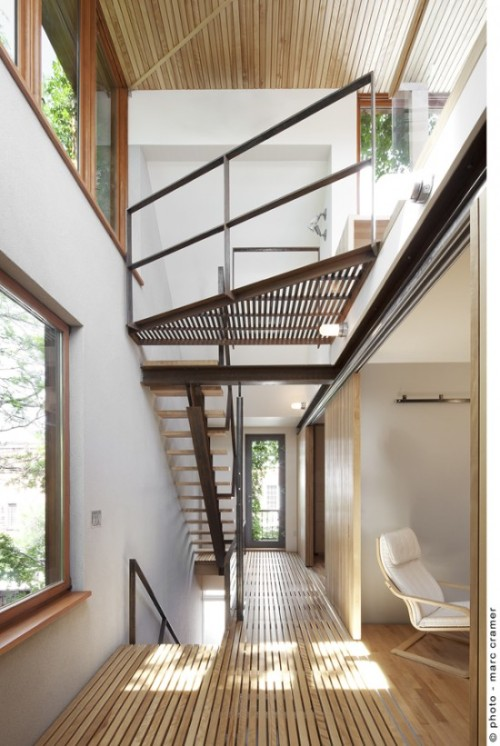 bernier-thibault res | lightwell ~ paul bernier architecte