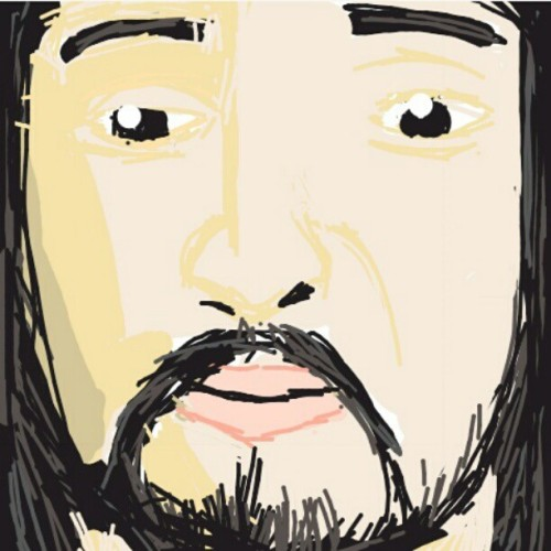 For all the Steve Aoki fans #drawsomething (Taken with instagram)
