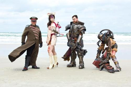 Remnant on Daytona Beach at Florida Steampunk Expo this past weekend  Photo By: Nathan Carter