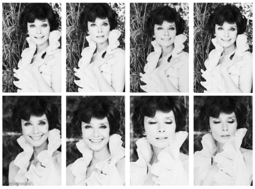"inlovewithaudreyhepburn:  She aged beautifully  ""If I'm honest I have to tell you I still read fairy tales and I like them best of all.""      - Audrey Hepburn"