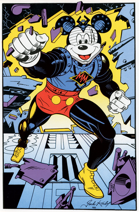 Mickey Mouse by Jack Kirby