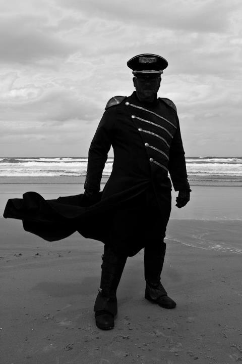 Jim as the Warden on Daytona Beach at Florida Steampunk Expo this past weekend Photo By: Nathan Carter
