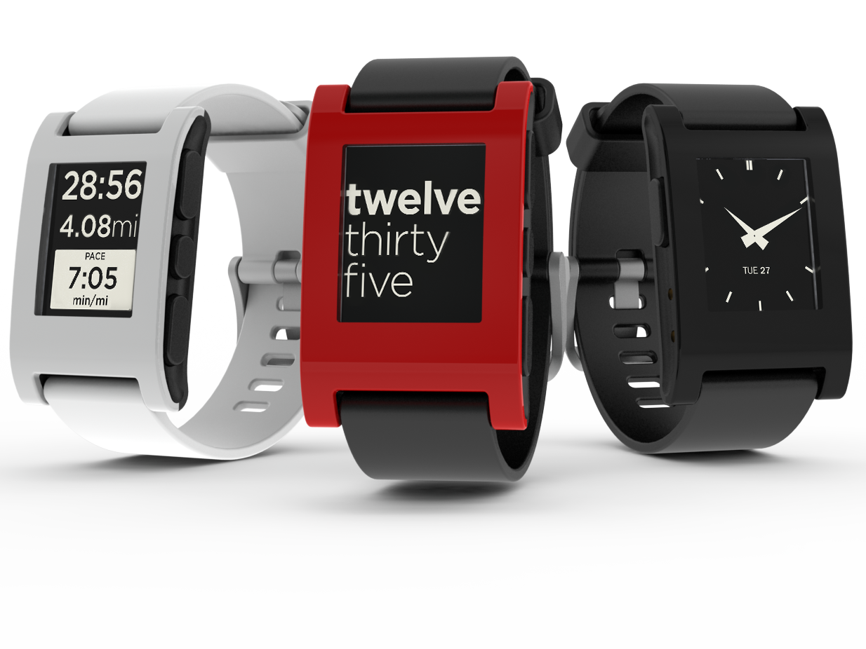 "Pebble E-Paper Watch Gets Waterproofed. Due to hitting their $1 Million dollar milestone the guys were going to make the Pebble waterproof but they had already hit $3 Million before they could announce it! They're not yet sure of what type of waterproofing it'll have but they said, ""all Pebble watches will be waterproof enough to swim with"", they're not going to be dive watches but you won't have to hide your watch in a rainstorm either. Due to the overwhelming amount of desire for these in the tech world I am keeping the Pebble up as the weekly feature for now. You can still pre-order yours and help the funding over at KickStarter."