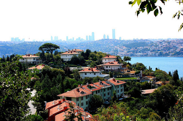 istanbulover:  Bosphorus 3 by gurel.ayse on Flickr.