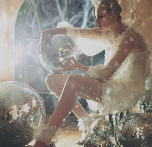 Caroline Trentini in Vogue Italia by Tim Walker