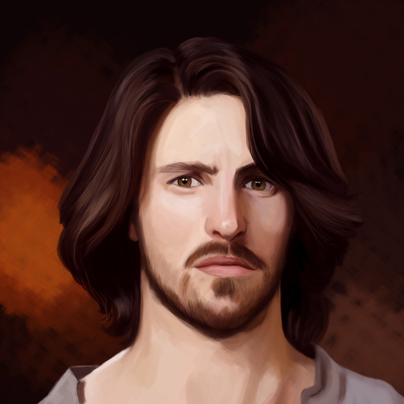 Hey, it's Eoin Macken!  (oh, he's Gwaine in Merlin. I have much love for that character. So…hhhooo - I mean funny)