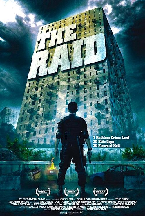 The Raid (2012) dir. Gareth Evans 3.5/4 Before I get into more specific feelings about The Raid, I want to say that I really enjoyed it overall. I liked Merantau a lot more, but I think The Raid is the better made film hands down. With that out of the way, let's get down to business. Iko Uwais and Gareth Evans, hot off of the success of Merantau, are back to bring you…