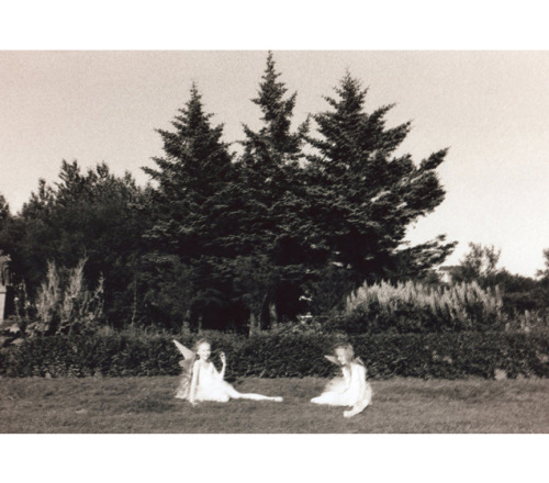 witchsauce:  Ariko Inaoka's beautiful photographs of identical twins Erna and Hrefna. Also watch the lovely film here.