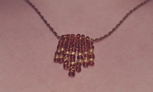 http://www.etsy.com/listing/97569949/chevron-glass-beaded-chain-necklace-free