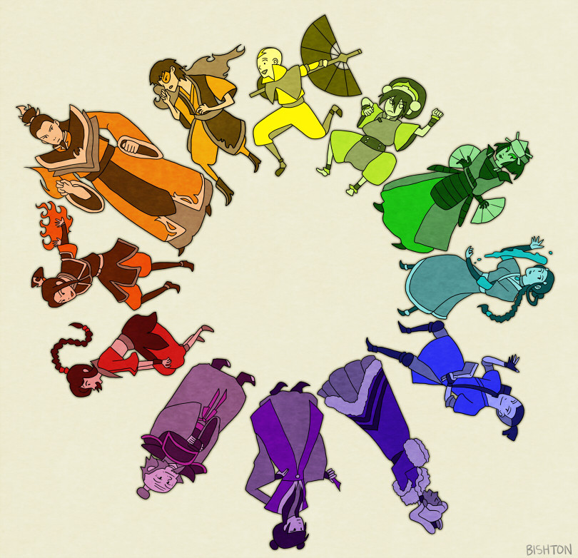 bishton:  Colorbending: Avatar Color Wheel (remake)