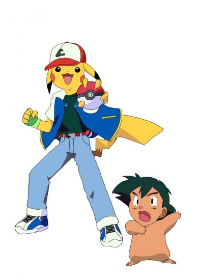 Extreme faceswapping, pokemon edition.