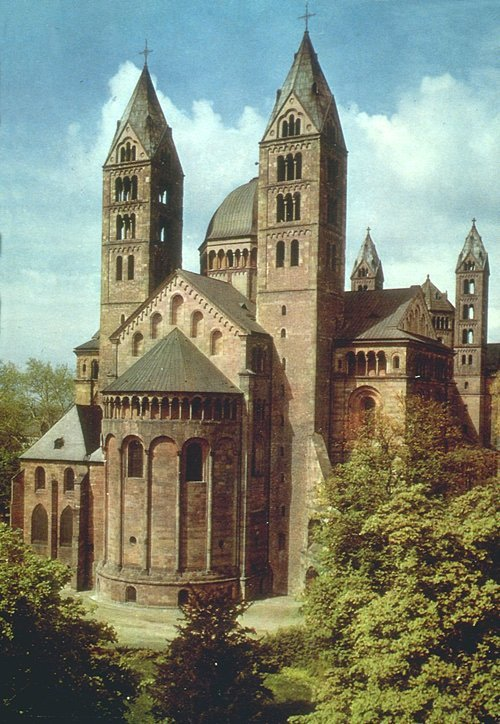 vivreaveclart:  Speyer Cathedral (1030-1106) Read the blog entry here.