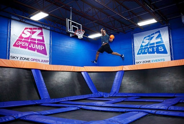 Sky Zone… Show me what you got!