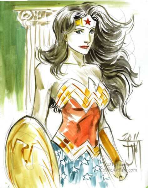 swamiswampy:  Wonder Woman by Francis Manapul
