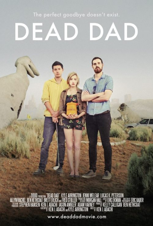 Film: DEAD DAD We love a good story about teamwork and people making things happen, so when we received some information on indie film, DEAD DAD, we knew this team was worth mentioning. DEAD DAD is the outcome of a group of hard-working friends who stuck together after graduation from Florida State University. With a passion for filmmaking and limited means, they stuck by one another and completed this official selection for Florida Film Festival 2012.  DEAD DAD makes its world premiere at the FFF 2012 tonight at Enzian Theater.  When their dad dies unexpectedly, estranged siblings Russell, Jane and their adopted brother, Alex, come home to tend to his remains. Though a stubborn and proud bunch, they are able to agree on one thing: nobody wants to keep the ashes. With little guidance and mounds of resentment among them, the three must work together to achieve a proper goodbye. The man who split them apart brings them closer together as the siblings learn what it means to be a family without their dad.  Thursday, April 19, 2012 Tickets Florida State UniversityFilm School graduates:Director/Writer: Ken Adachi (MFA, directing, film production, FSU '09)Writer/Actor:  Kyle Arrington (MFA, screenwriting andplaywriting, FSU '09)Producer/Actor: Ben Hethcoat (BFAacting '10), Orange Park/Tallahassee Cinematographer: Eric Bader (MFAproduction, FSU '09)Executive Producer:  Adam Varney (MFA, film production, FSU '09) Executive Producer: Jason Ambler(BFA, film production, FSU '09)Production Designer: Morgan Hall(BFA, film production, FSU '09), Oviedo and Fernandina Beach Other FSUgraduates who are members of the cast and crew:Actor: Jenni Melear (BS, political science, FSU & University ofNorth Florida, '07), Jacksonville BeachEditor:  Eric Ekman (film production, Miami DadeCollege), Fort Lauderdale Casting Director: Lindsey Samilian(BS, telecommunications, University of Florida '07), TampaFirst Assistant Camera: Beth Napoli (MFA, FSU '10)Second Assistant Camera: MadelineEberhard (BFA, FSU '10)Associate Producer/Production Coord:Monique McKellop (BS, economics, FSU '07), Jacksonville Beach Additional Camera Assistant: RonJohnson (BFA, film production, FSU '10)Grip/Electric: Eric Clark (MFA, FSU'09)Grip/Electric:  Thomas Lorne (MFA, FSU '09)Still Photographer: Jessica Tosoc (BFA,studio art, FSU '07)Website:    deaddadmovie.comIMDb:         imdb.com/title/ff1971369Facebook:  facebook.com/deaddadmovie Twitter:      twitter.com/DeadDadMovie