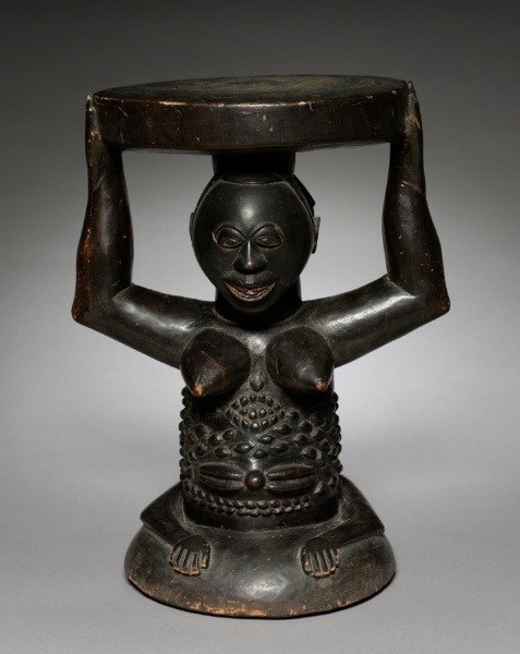 Stool Luba, 1900 The Cleveland Museum of Art