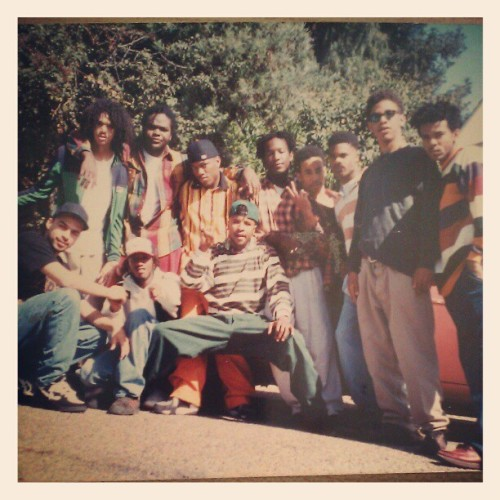 hierodomino:  Hiero crew and T-more and Schwin…1992 (Taken with instagram)