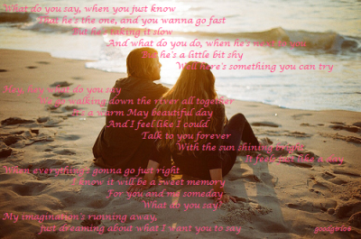 What do you say ~ Taylor Swift