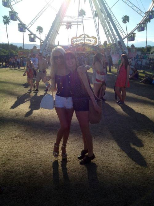 COACHELLA 2012 me and my roomie