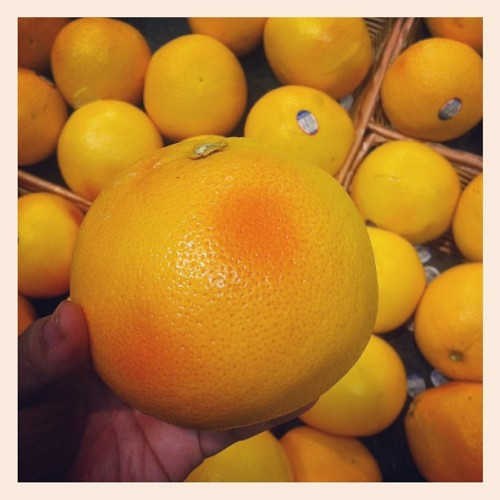 Awww blushed grapefruit ( ´ ▽ ` )ノ (Taken with instagram)