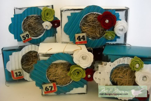 Recycled Cardboard Boxes, by Melony