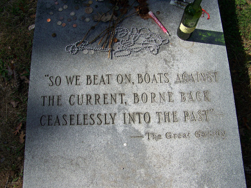 F. Scott Fitzgerald Grave by Piedmont Fossil on Flickr.