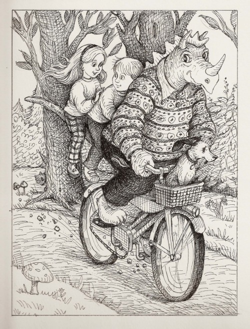 reptilian biker illus. by hoddleypoddley