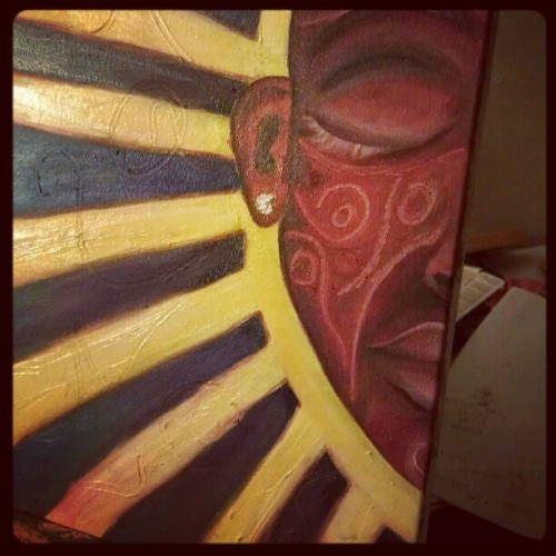 antcave:  Commission progress (Taken with instagram)