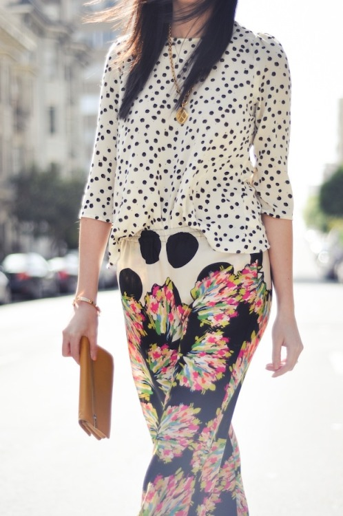 what-do-i-wear:  Blouse - DV Dolce Vita via Stitch Fix, Pants - Zara  (image: 9to5chic)