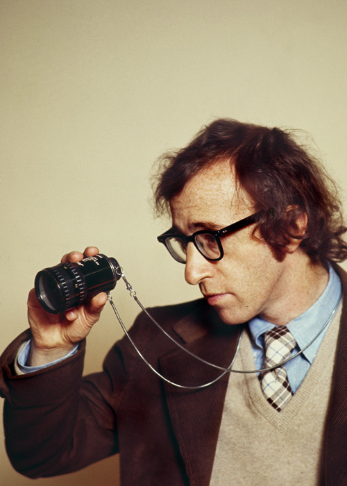 frankiemachines:  Woody Allen on the set of Everything You Always Wanted to Know About Sex but Were Afraid to Ask, 1972