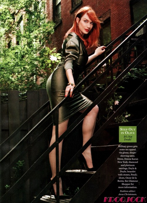 Oh Christina Hendricks you are HOT!