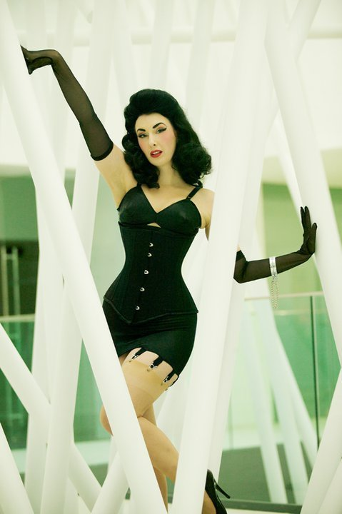 "suckerforaprettyface:  hourglass-silhouette:  ""Dita"" underbust from Rawhide Corsets.  Reblogged via Stumblr"