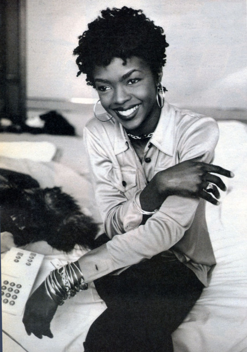 ohitsthe90s:  Lauryn Hill, Spin Magazine, 1997. Photo: Terry Richardson
