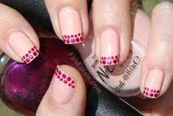 fabfatale:  (via Manicure Mondays – Ruby Tips « Fab Fatale)