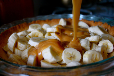 in-my-mouth:  peanut butter banana pie